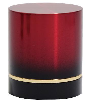 手元供養品のミニ骨壷「赤」
