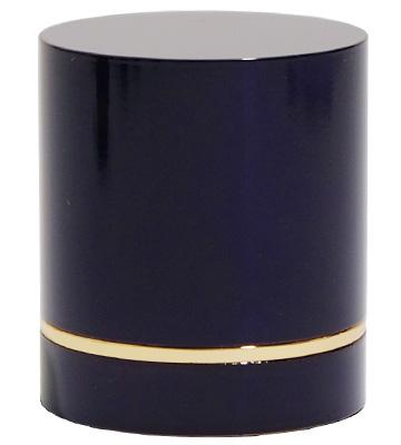 手元供養品のミニ骨壷「紫紺」
