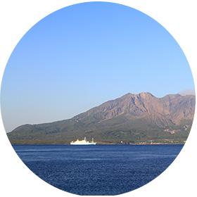 鹿児島の海洋散骨海域