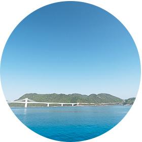岡山(牛窓)の海で海洋散骨