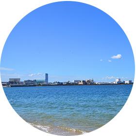 大阪の海洋散骨海域