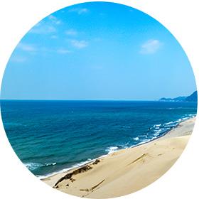 鳥取の海洋散骨海域