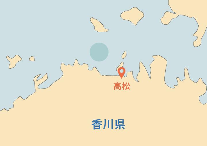 香川での海洋散骨業者