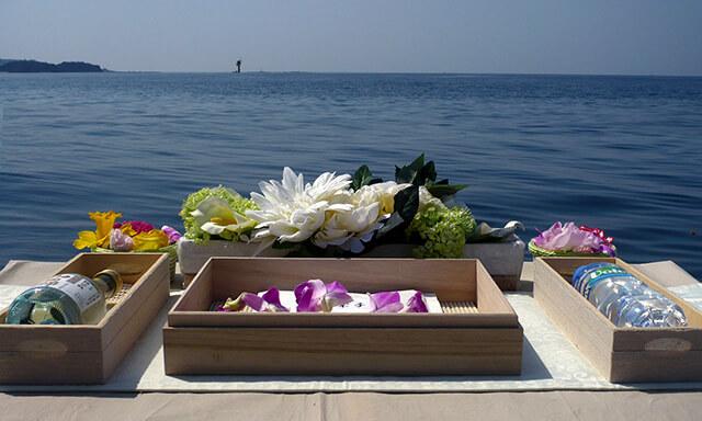南紀白浜での海洋散骨事例