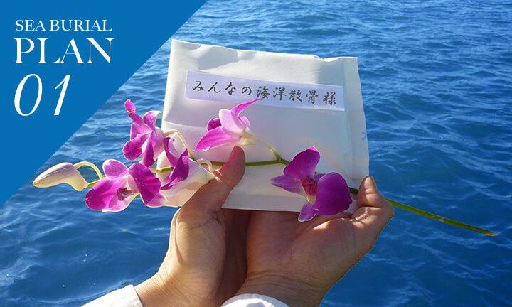 神奈川県での海洋散骨プラン