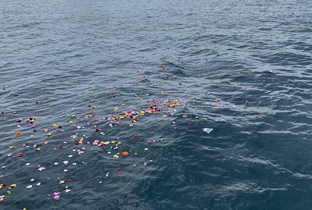 宮津・舞鶴での海洋葬