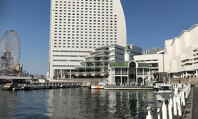 神奈川・横浜の海洋散骨業者のみなとみらい