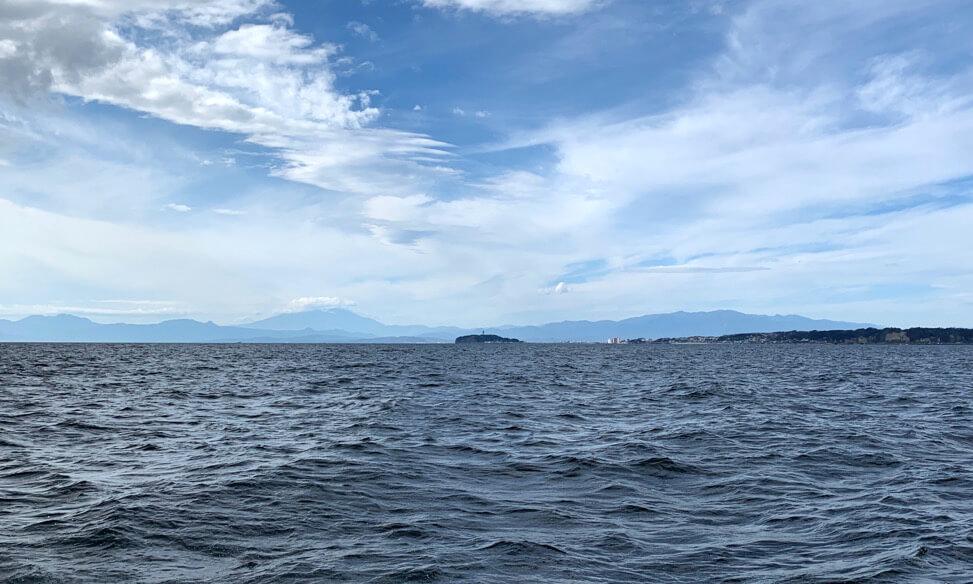 湘南での海洋散骨