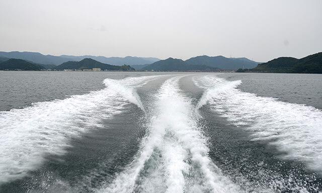 福井県若狭での散骨
