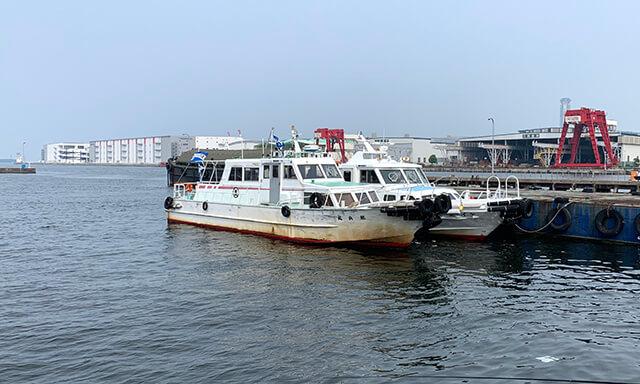 大阪湾での海洋散骨事例